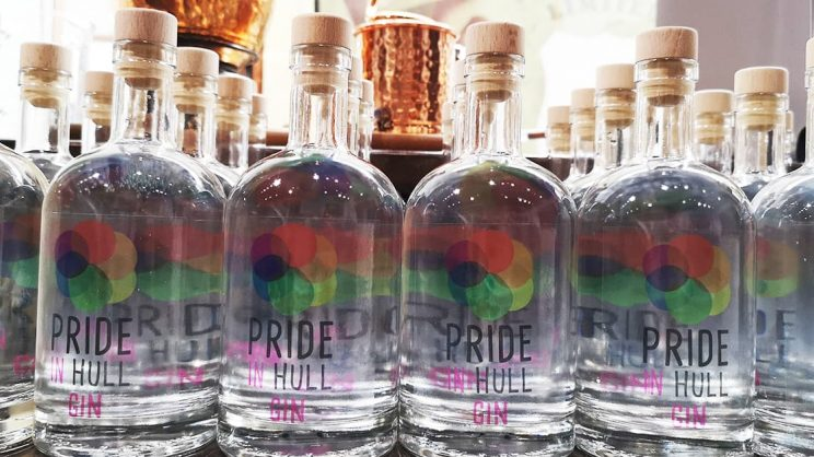 Pride in Hull + Hothams gin
