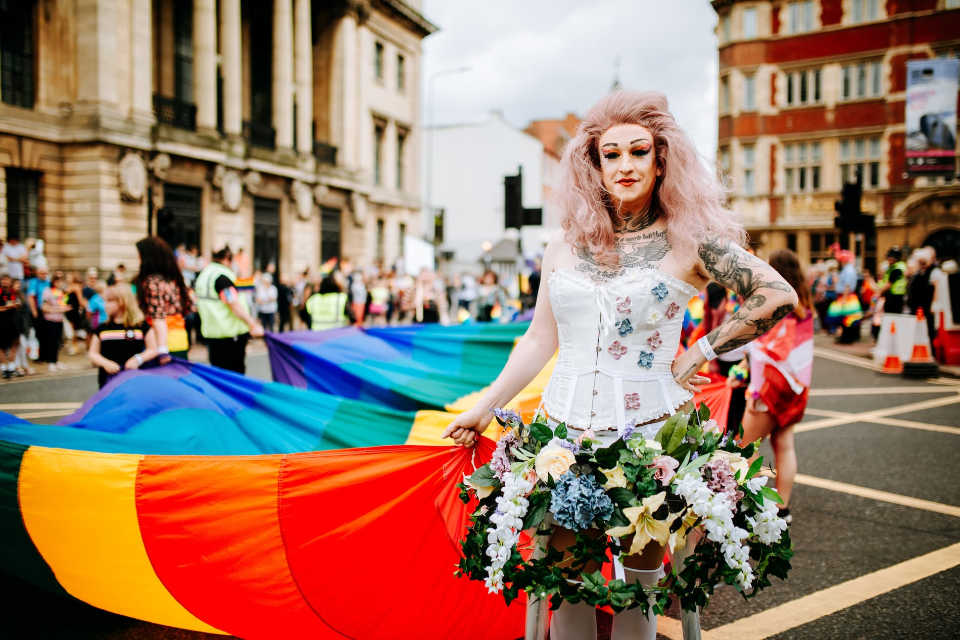 Pride in Hull parade 2019